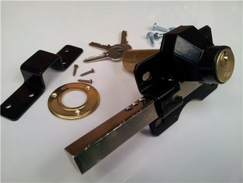 Cays Rim Gate Lock 70mm Ideal For Garden Driveway Gates